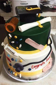 Baylor nursing graduation cake! #SicEm