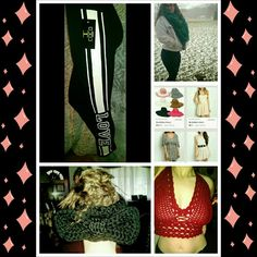 A good variety!🌈 I have a large selection of clothing that ranges in style and size. Retail, homemade, NWT, and pre worn. My closet is a good place for gifts and personal shopping, I really hope you find something you like. You ladies are very important to me and every cent I earn helps.  Thank you for stopping by, beautiful. nemracrulez Accessories