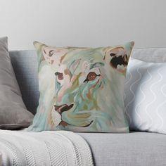 Throw Pillows, Bed, House, Ideas, Toss Pillows, Cushions, Stream Bed, Home, Decorative Pillows