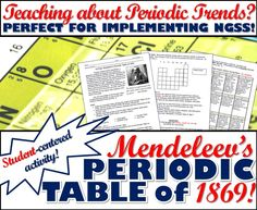 Periodic table scavenger hunt periodic table atomic number and activity mendeleevs periodic table of 1869 urtaz Image collections