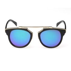 cat eye sunglasses men women vintage sunglasses blue color new arrival  oculos escuro gafas oculos de sol 73bfd49b1f