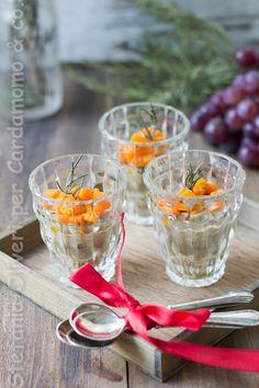 Cheesecake salato zucca e lenticchie antipasto natalizio perfetto. Sposa la tradizione con l'innovazione e piacerà a tutti. Senza glutine.