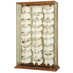 antique men's french collar display