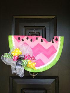 Watermelon door hanger/wreath