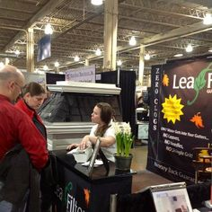 Columbus Marketing Manager, Shannon Dabney Hard At Work At The Dispatch Home  U0026 Garden Show