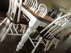 "d i y d e s i g n--Step by step instructions to paint a piece of furniture ""antiqued"""