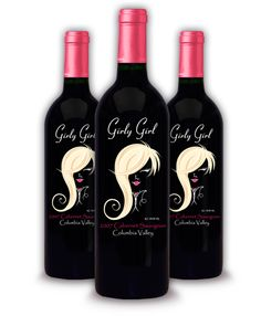 Girly Girl Wine!  Ok, ladies this one's for you!