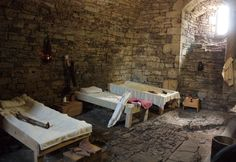 For the Jail, if we wanted to give them a little bit of a space to interact with their environment Medieval Houses, Medieval World, Medieval Castle, Sims Medieval, Castle Rooms, Grand Homes, Middle Ages, Architecture, History