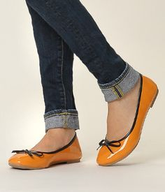 Bow Accent Ballet Flats – Flats   yeswalker   Free worldwide shipping on every order
