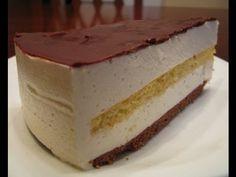 Торт «Птичье молоко» с сыром маскарпоне - YouTube Hungarian Cake, Russian Desserts, White Cakes, Vanilla Cake, Tiramisu, Mousse, Cheesecake, Cooking Recipes, Sweets