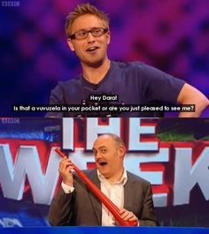 Russell Howard and Dara Ó Briain