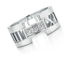 Open Ring, Tiffany, Silver Rings, White Gold, Metal, Diamonds, Jewelry, Products, Jewellery Making