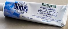 Tom's of Maine-Fluoride Free.  Works Great!
