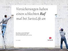 Versicherungen haben einen schlechten RUF mal bei SwissLife an #wendesatz