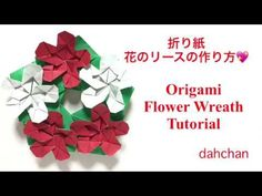 Read information on Step by Step Origami Origami Yoda, Origami Mouse, Origami Star Box, Origami Dragon, Origami Fish, Origami Stars, Origami Instructions, Origami Tutorial, Wreath Tutorial