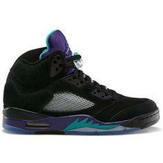 457d4501e649 Latest Listing Discount 2013 Air Jordan 5 Retro Black Grape Basketball Shoes  Store Cheap Jordans