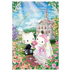 Hello Kitty Jigsaw Puzzle 1000 Pieces Sweet Wedding SANRIO JAPAN