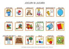 Jocuri si jucarii by Dana Horodetchi, via Slideshare Romanian Language, Aba, Little Boys, Origami, English, Board, Fashion, Play Dough, Puppet