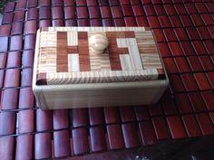 Jewllery box , pine and cedar