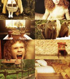 Fairy Tale Picspam→ Goldilocks and the Three Bears