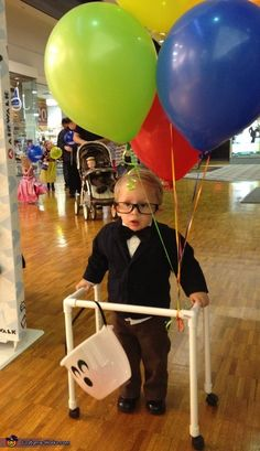 Little Old Man on UP - 2013 Halloween Costume Contest. Halloween Costumes Online, Halloween Costume Contest, Halloween Dress, Halloween Party, Halloween 2013, Costume Ideas, Old Man Costume, Boy Costumes, Old Man From Up