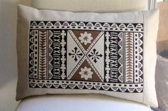 fiji tapa designs along with fiji tapa cloth as well as fijian tapa . Polynesian Designs, Polynesian Art, Tongan Culture, Textile Prints, Textile Art, Hawaiian Crafts, Linen Pillows, Cushions, Girl Scout Activities