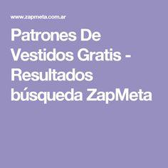 Patrones De Vestidos Gratis -  Resultados búsqueda ZapMeta