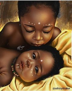 Black Art Family African Americans 63 New Ideas Art Black Love, Black Girl Art, Art Girl, Black Girls, Black Art Painting, Black Artwork, Art Et Design, Diy Design, Black Girl Cartoon