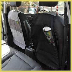 transparent black gray Anti-Child-Kick Pad silla de autos para ninos child seat mat protetor autostoel beschermer kinderen