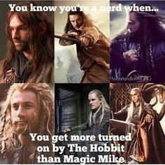 Middle Earth Men do it better!!! (but tbh, I'm not watch Magic Mike and still not interested to watch) #lotr