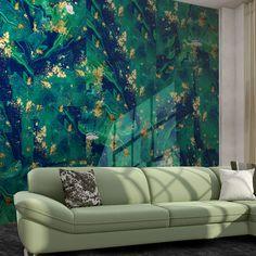 #green #gold #elegance #Divas Diva Design, Divas, Glitter, Elegant, Wallpaper, Green, Gold, Collection, Home Decor
