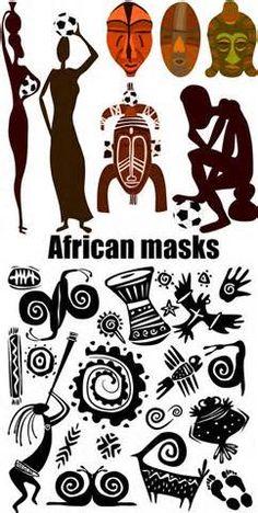 máscaras africanas - Pesquisar