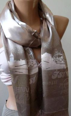 Elegance  Shawl / Scarf Istanbul by womann on Etsy, $22.90
