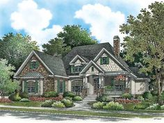 Eplans Craftsman House Plan - Elegance and Warmth in Design - 2048 Square Feet and 4 Bedrooms from Eplans - House Plan Code HWEPL14041