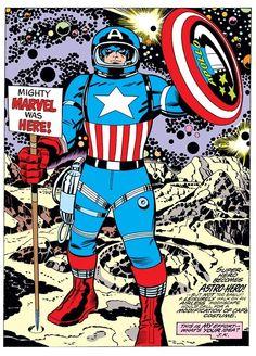 Marvel Treasury Special - Captain America's Bi-Centennial Battles by Jack Kirby
