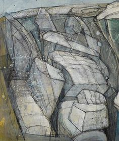 Wilhelmina Barns-Graham lived a fruitful life spanning nine decades. This chronology details the pivotal events of her life & career. Painting Collage, Painting & Drawing, Abstract Paintings, Gallery Of Modern Art, Water Drawing, Tate Gallery, Art Society, London Art, Abstract Shapes