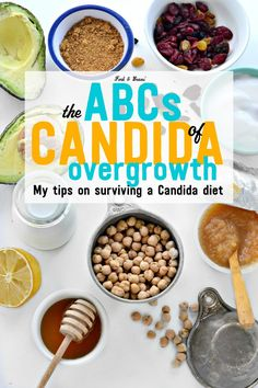 ABCs of Candida Recently diagnosed with a Candida overgrowth? Here are a few tips on how to deal with the diet to heal your body.Recently diagnosed with a Candida overgrowth? Here are a few tips on how to deal with the diet to heal your body. Get Rid Of Candida, Anti Candida Diet, Candida Diet Recipes, Candida Yeast, Candida Cleanse, Health Cleanse, Cleanse Diet, Candida Symptoms, Candida Diet Food List