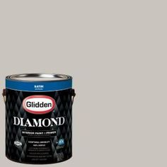 Glidden Diamond 1 gal. #HDGWN50U Greyrock Inn Satin Interior Paint with Primer HDGWN50UD-01SAN at The Home Depot - Mobile