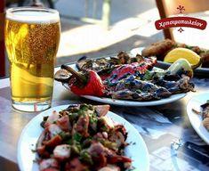 Ώρα για μεζεδάκια ! Pasta Salad, Beef, Ethnic Recipes, Food, Crab Pasta Salad, Cold Noodle Salads, Meals, Noodle Salads, Yemek