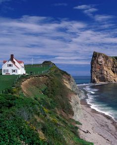 Perce Rock. Gaspe, Quebec