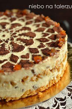 lodówki by stwardniała. Polish Desserts, Cookie Desserts, Sweet Desserts, No Bake Desserts, Sweet Recipes, Delicious Desserts, Cake Recipes, Dessert Recipes, Ukrainian Recipes