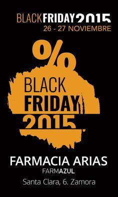 #BlackFriday en Farmacia Arias 15% de Descuento en Parafarmacia