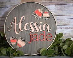 48 Ideas For Diy Baby Wood Wooden Letters Wooden Names, Wooden Letters, Wooden Signs, Cute Baby Names, Baby Girl Names, Diy Tumblr, Baby Name Signs, Rustic Wedding Guest Book, Nursery Signs