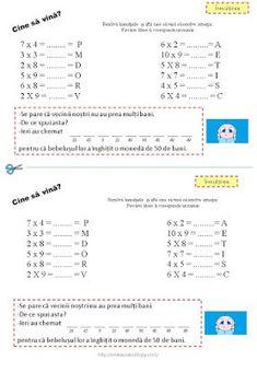 Ghicitori matematice - inmultirea