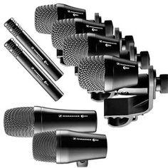 SENNHEISER Percusion 6  Microfono Instrumentos. Pack 7 microfonos