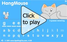 Vocabulary Spelling City games.  Click on Home for a full list of games.  The Find a list tab brings you to word lists.