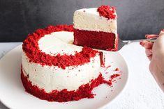 Red velvet cheesecake - Annabella's Foodblog