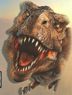 Dinosaur Images, Dinosaur Pictures, Dinosaur Art, T Rex Jurassic Park, Jurassic Park World, Prehistoric World, Prehistoric Creatures, Jurrassic Park, Extinct Animals