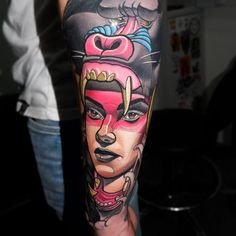 Wild girl tattoo Myrhwan Ogt