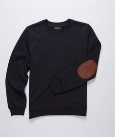 A.P.C. - Elbow Patch Sweat